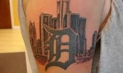 Image result for Detroit/tattoo