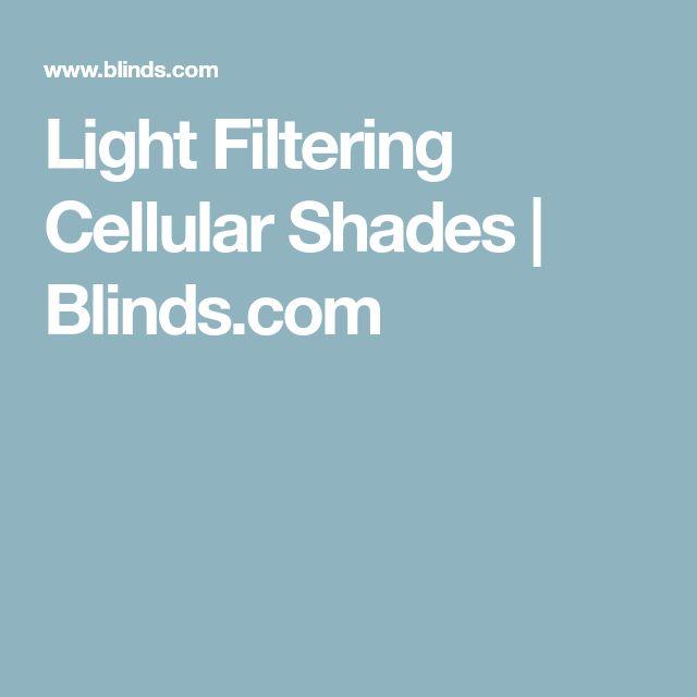 Light Filtering Cellular Shades | Blinds.com