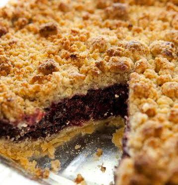 SusieCakes Blueberry Crumble Pie