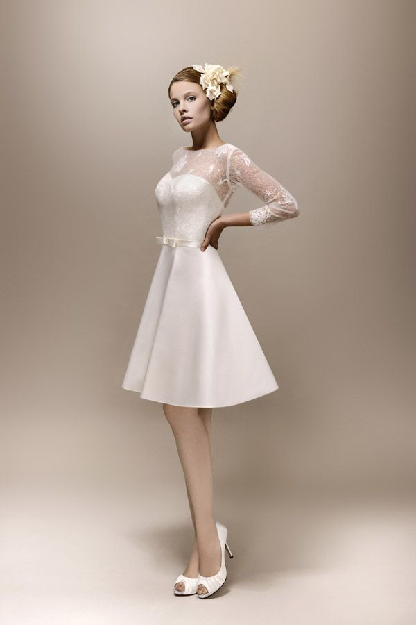 Max Chaoul Couture - robe Romy - 1960  ROBE A MARIER  Pinterest ...