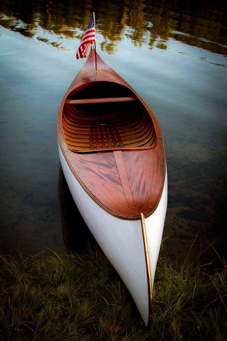 Deppen custom wood canoe paddles - Antique Boat America Antique Boat Canada
