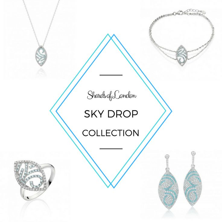 Visionary 💙 Positivity 💙 Clarity?  This collection is for you👉 http://www.shardsoflondon.com/sky-drop  #Jewellery #Jewelry