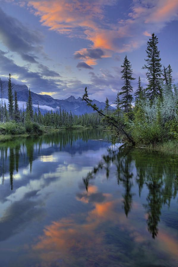 I'd like to have a kayak, my fly rod and good weather for a fly fishing trip to this Alberta, Canada lake.