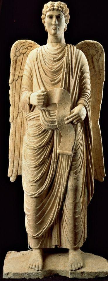 Angel / Antelami Benedetto - Arcangelo Gabriele, c. 1210-1215  Museo Diocesano, Parma