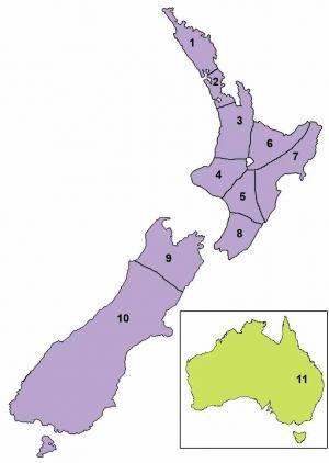 Regions   Te Ataarangi