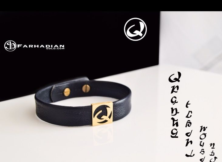 #Armenian_alphabet What is the first letter of your name ? 🔸leather bracelets with Armenian letters 🔸18k gold 🔸~2 grams 🔸geniune leather 🔸world wide shipping . Place your order at 👉🏼www.FarhadianGold.com Or 📞Contact us +1(818)818-0595 . #gold #18k #Fargo #bracelet #letters #fashion #jewelry #armenian #armenianletters #hayeren#Armenian_Jewelrys #gold #18k #Fargo #bracelet #letters