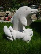 Image result for DOLPHIN SCULPTURE IN HEBEL STONE
