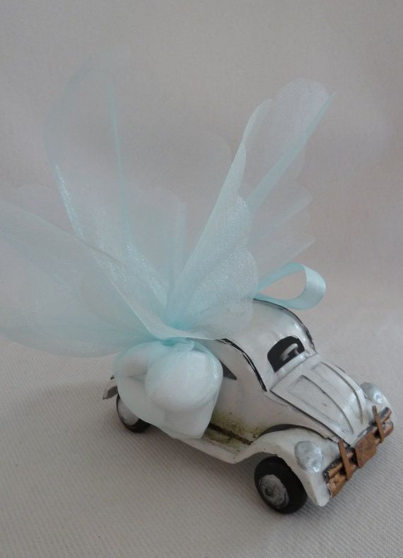 Tin Car Christening / Baptism Favor by BaptismSupplies on Etsy