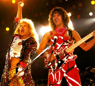 Van Halen : Civic Auditorium (1981) – Eddie, David Lee and the Boys. Prime form. Glad I saw them then. 'Cause I wouldn't want to see them now!
