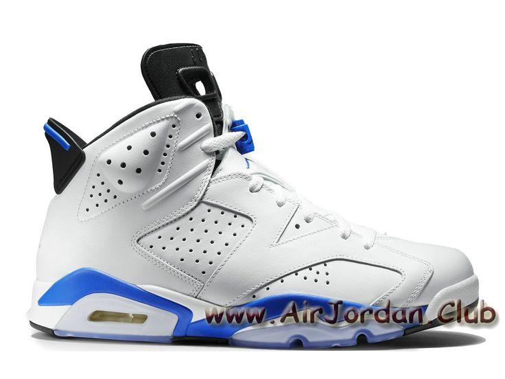 Air Jordan 6 Retro ´Sport Blue´ 384664-107 Homme Air Jordan Pas cher