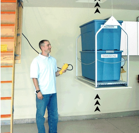Best garage attic lift Versalift