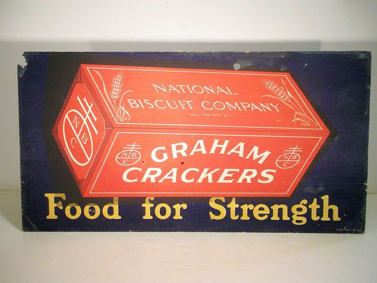 AAFA Large Early General Store National Biscuit Company