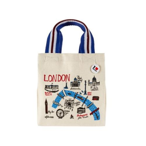 Mini #tote #bag #London conçu par Julia #Gash  Prix 15 euros TTC