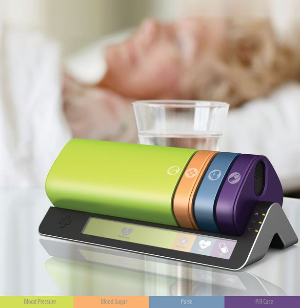 Heal Station for diabetics features several devices to maintain the health of people with diabetes. It's a one stop solution for diabetic patient, the device is color coding for simple, fast and easy for better user experience.