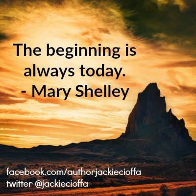 The beginning is always today. -Mary Wollstonecraft #Quotes #Inspiration