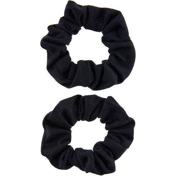 Accessorize 2x Jersey Hair Scrunchie Pack ($4.50) ❤ liked on Polyvore featuring accessories, hair accessories, scrunchie hair tie, elastic hair ties, retro jerseys, ponytail hair ties and scrunchie hair accessories