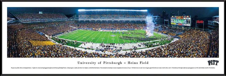 Pittsburgh Panthers Football Panoramic - Heinz Field Picture