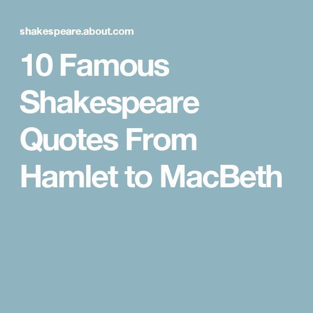 25+ best Famous macbeth quotes on Pinterest | Shakespeare macbeth ...
