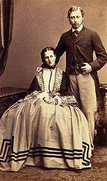 Alessandra di Danimarca ed i fidanzato Edoardo