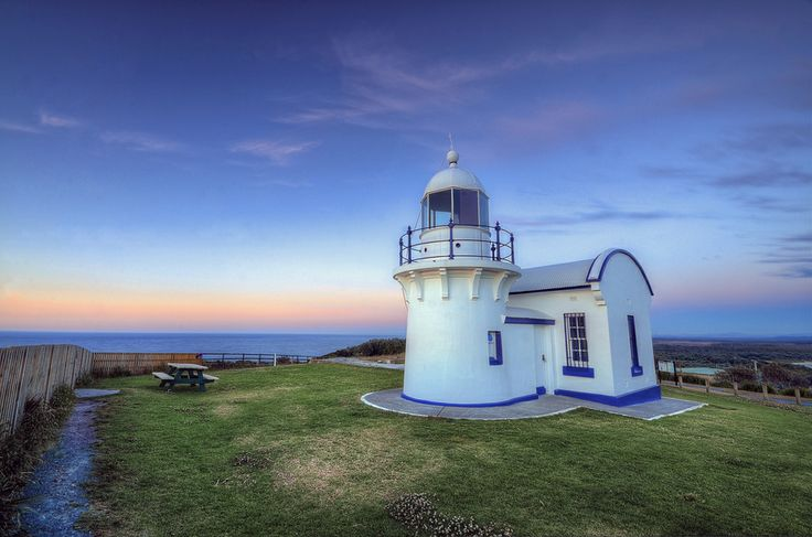 Crowdy Head Lighthouse. Built in 1878 on the Mid North Coast of NSW Australia.