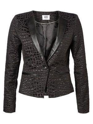 MARONE MAI LS BLAZER MODA #veromoda #blazer #animalprint #fashion #style @Veronica MODA