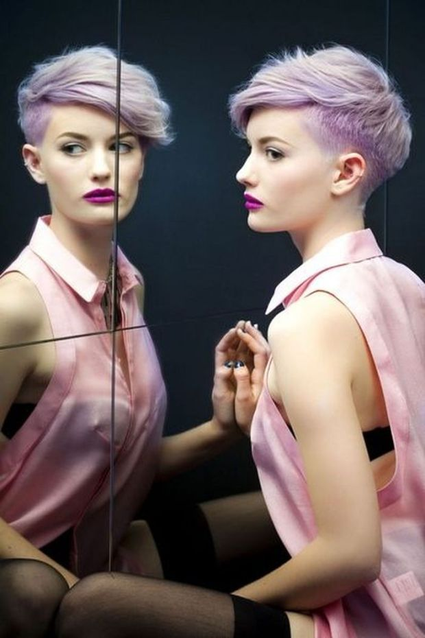 pixie-short-punk-hairstyles-purple