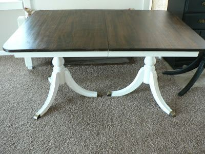 Best Duncan Phyfe Table Ideas On Pinterest - Chantilly distressed dining table by little tree furniture