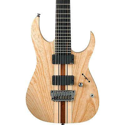 Ibanez Iron Label Rg Series Rgit27fe 7-string Electric Guitar Natural Flat - http://www.7stringguitar.org/for-sale/ibanez-iron-label-rg-series-rgit27fe-7-string-electric-guitar-natural-flat-2/32412/