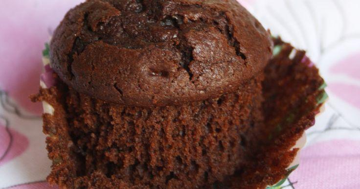 Muffins de chocolate Starbucks ~ En mi nube de azucar....