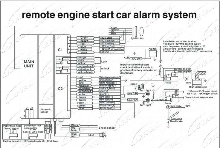 Remote Car Starter Installation Wiring, Avital Wiring Diagram
