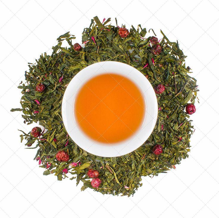 """Ein neuer Stern am Grüntee-Himmel: Charmant dekoriert mit roten Früchten und kräftig-rosafarbenen Kornblumenblüten, könnte diese """"Cassis-o-peia"""" wahrhaftig die Kreation für eine Königin sein. Fruchtige, herbe und süße Noten von Cassis und Kirsche verbinden sich zu einer exzellenten Aromatisierung. Ideal geeignet für die frisch-herbe Tasse der Grünteebasis.Zutaten:grüner Tee (92 %), Aroma, gefr.-getr. Sauerkirschstücke, gefr.-getr. rote Johannisbeeren, rosa Kornblumenblüten"""