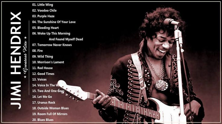 Best songs of Jimi Hendrix - Jimi Hendrix greatest hits (full album)
