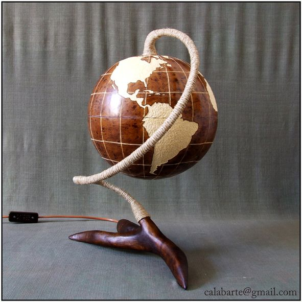 Table Lamp VII   Globe   By Day 3 By Calabarte