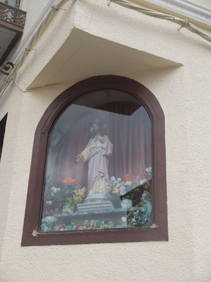 Illescas. Hornacina en la Plaza de Soledad, que recuerda que aquí hubo una iglesia de ese nombre