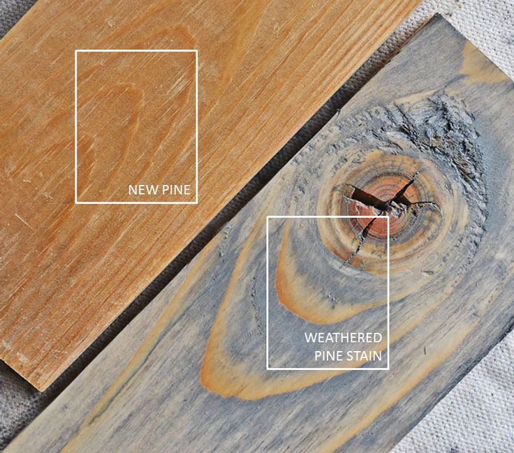 White Wash Pickling Stain On Pine: Stained, Weathered & Distressed Finishes