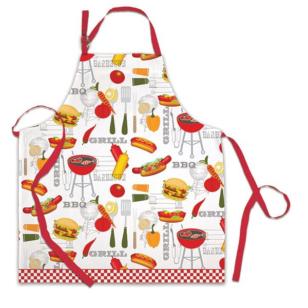 Michel Design Works Apron - BBQ. Here is an apron any chef would be proud to wear... and it's 100% cotton for easy care.