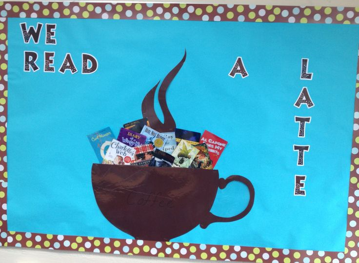 Cafe shop theme. Writer's Cafe. Middle school language arts.