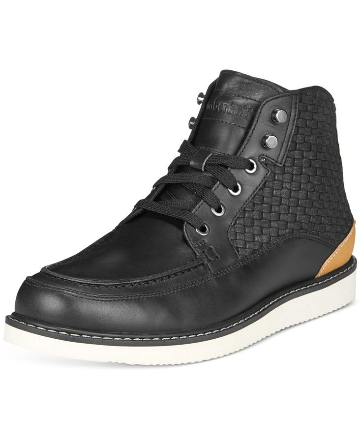 Timberland Men's New Market Woven Panel Boots - All Men's Shoes - Men -  Macy's