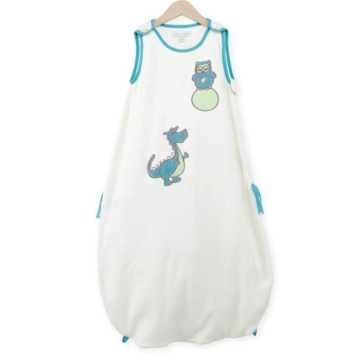 Turbulette d'été pour bébé garçon, blanche et turquoise, taille transformable.