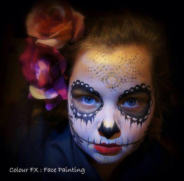 Color FX    sugar skull
