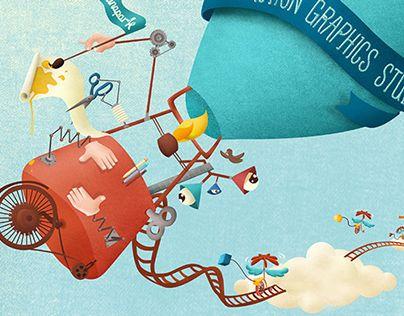Illustration for wetransfer