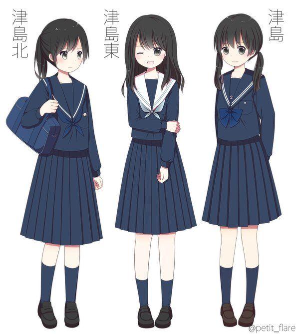 368 Best Anime School Images On Pinterest Anime Girls