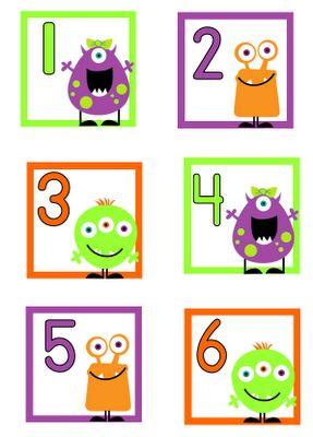 @Sherry Majors - Monsters! Aloha Kindergarten!: Freebie