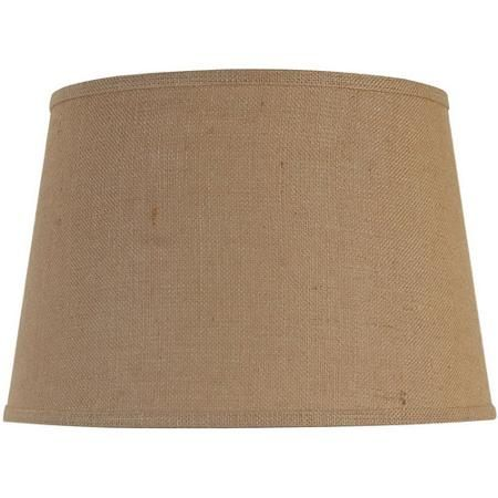 "Better Homes and Gardens Large Lamp Shade, Burlap. 15"" x 12"" x 10"" Walmart. 14.97. -CAB"