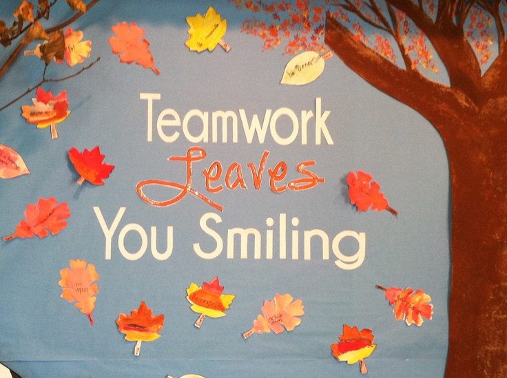 Autumn Bulletin Board Display