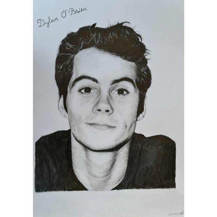 "53 aprecieri, 5 comentarii - @alisaurusart pe Instagram: ""@dylanobrienigofficial @dylanobrien @teenwolf #dylanobrien #drawing #draw #instadraw #illustration…"""