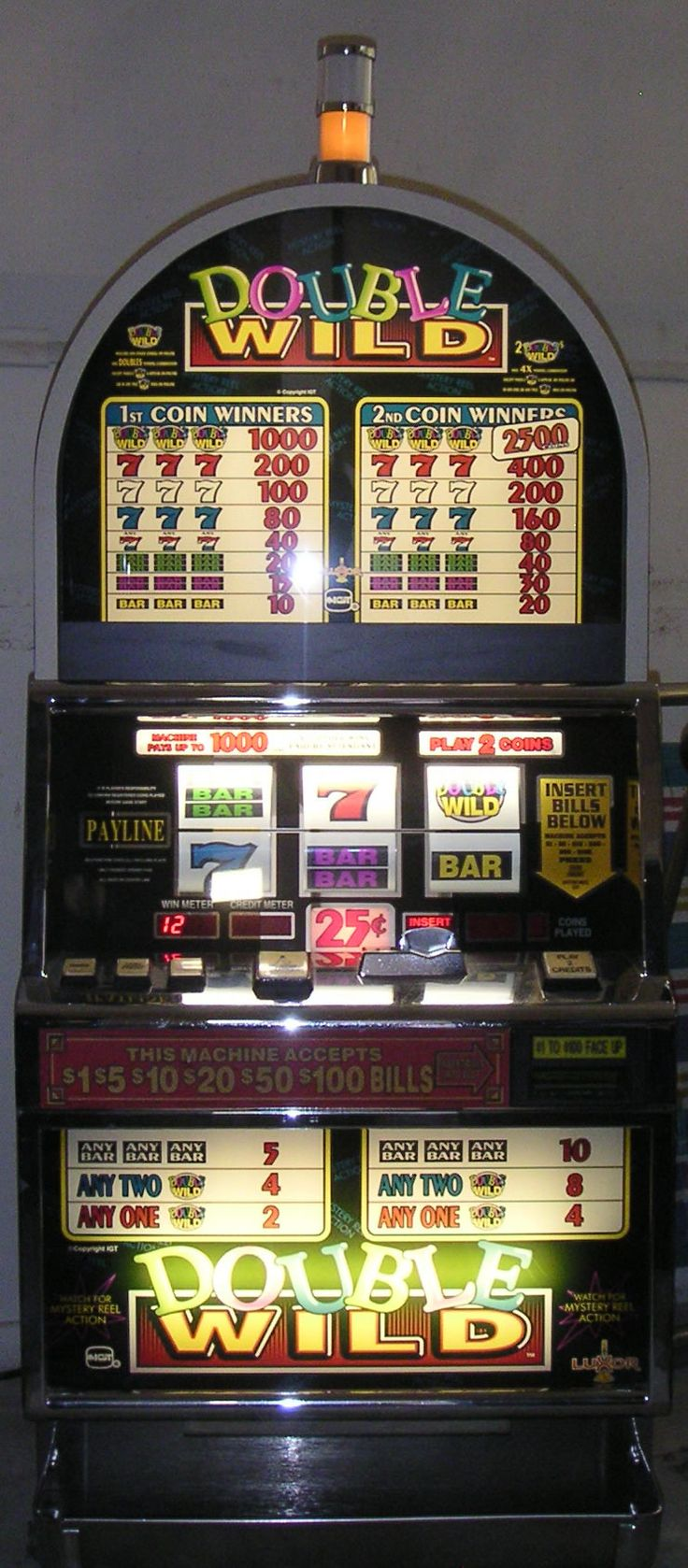 Old School Vegas slot machines