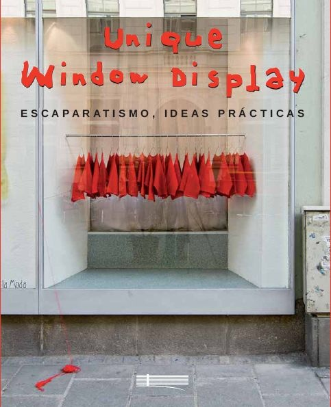 window display - monochromatic and minimalist impacts a powerful voice: come in possible SALE window too