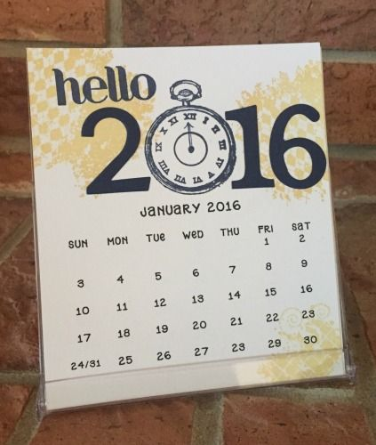 Best Stampin Up Cd Calendars Images On   Birthday