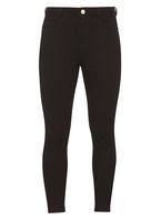 Womens Petite Black 'Shape And Lift' Jeans- Black